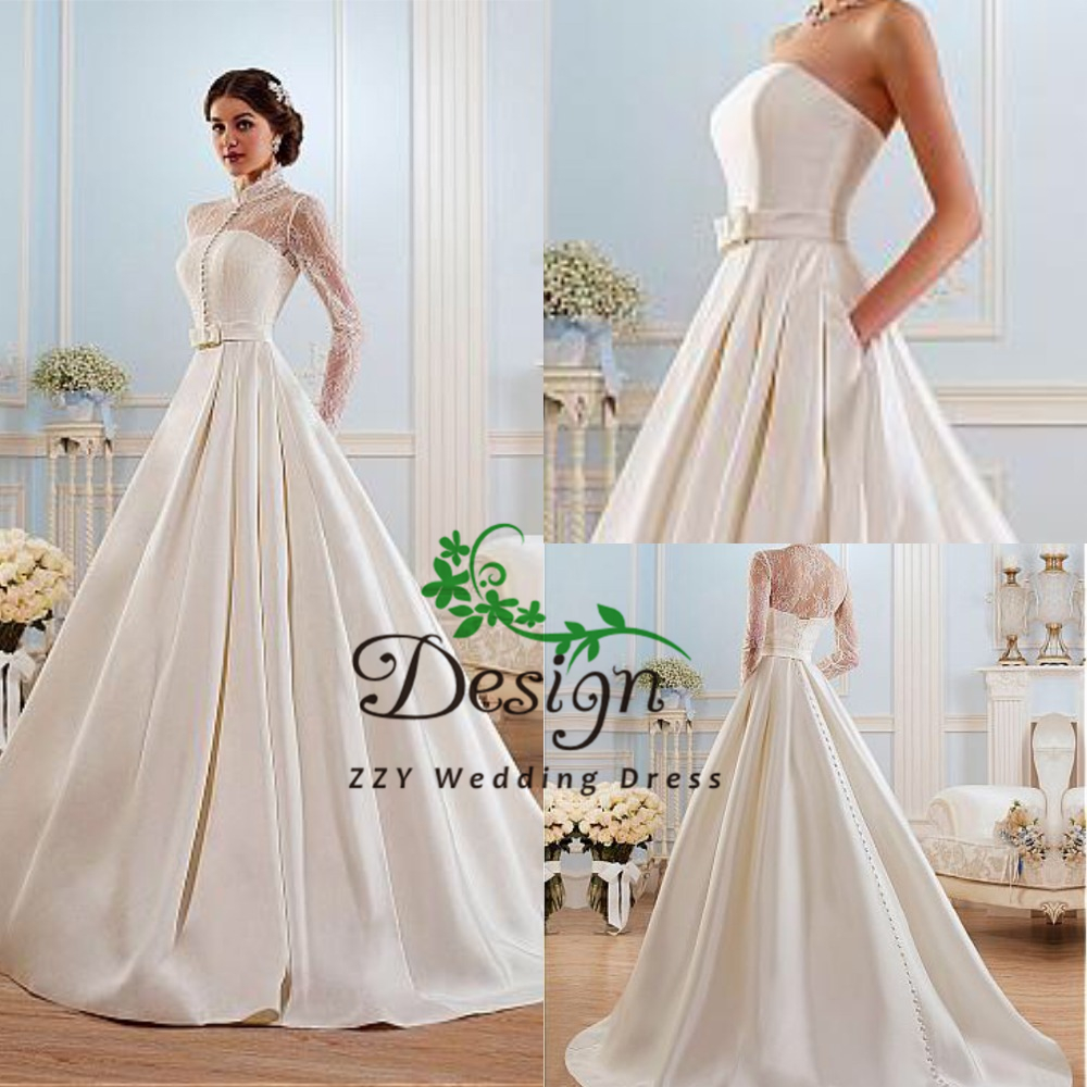 Luxury Ball Gown Strapless With Jacket Wedding Dresses Vestido De Noiva Satin Sash Court Train Vestido De Novia Corto