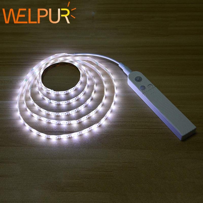 DC5V LED Strip Not Waterproof Motion LED Backlight LED TV Kitchen Hand Sweep Waving ON OFF PIR Sensor Light Diode Motion Sensing