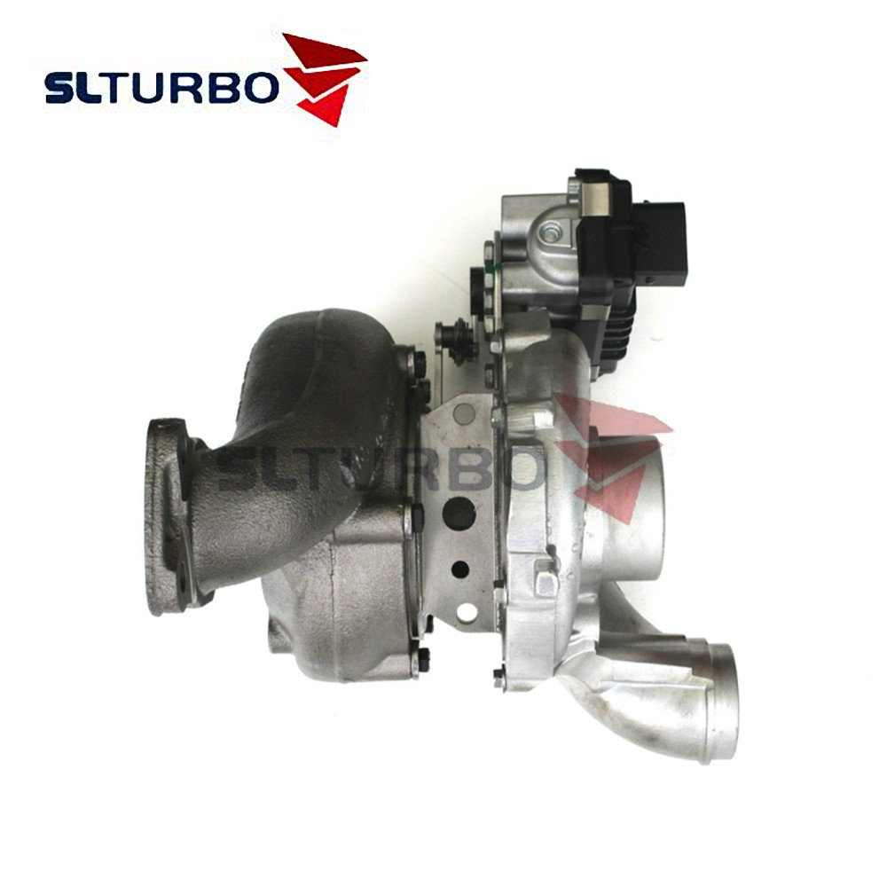 Complete Turbocharger 765155 68037207AA 765156 for Chrysler / Dodge Sprinter 300C CRD 160 / 165 Kw <font><b>OM642</b></font> - Turbo 765155-4 auto image