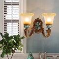 Прихожая стекло для рисования настенный светильник led Arandela для спальни прохода прикроватные настенные лампы ретро гостиная детская комнат...