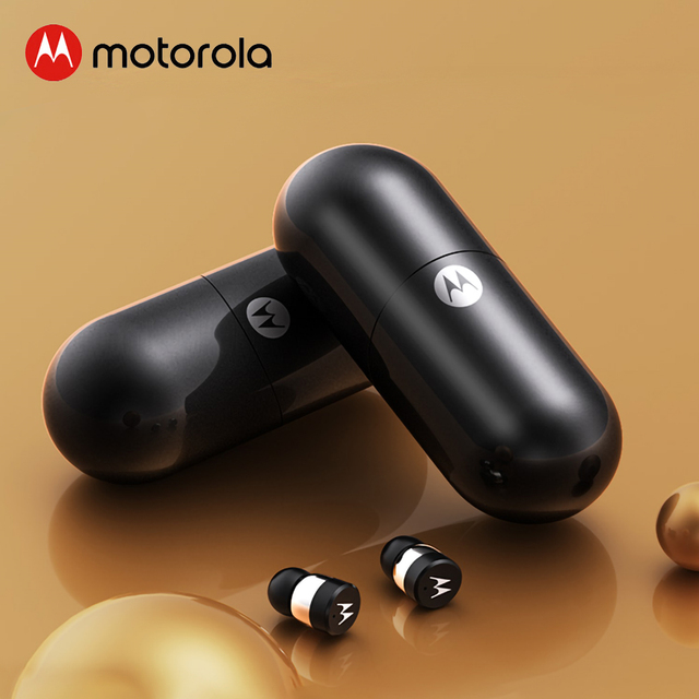 Motorola Vervebuds 400 Bluetooth 5 0 earphones Touch Control Wireless Earbuds Smart Voice With Charging Case