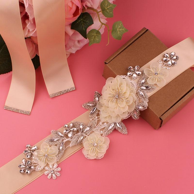 Dress belt bridal belt ladies belt pearl rhinestone belt evening dress belt wedding accessories