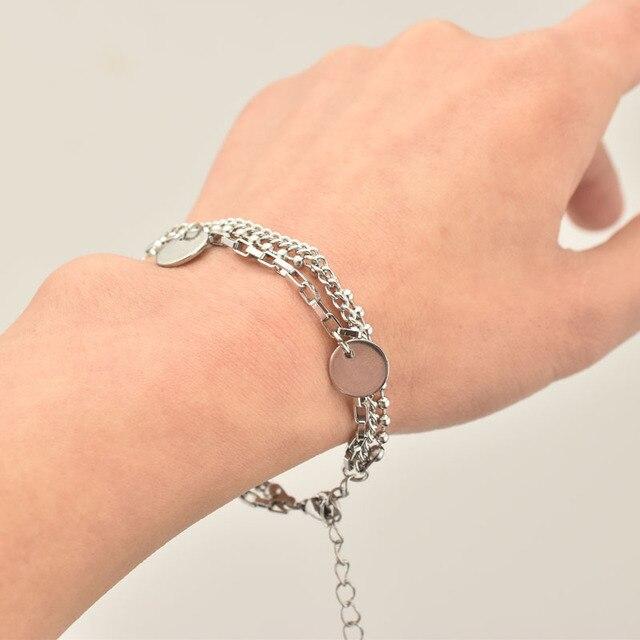 BTS Jimin Multilayer Bracelet Metal  5