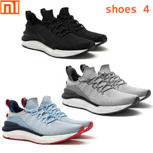 Originale xiaomi norma mijia scarpe sportive 4 Scarpe da corsa tessili per la maglia elastica ammortizzatore sole da corsa degli uomini di comfort scarpe da ginnastica