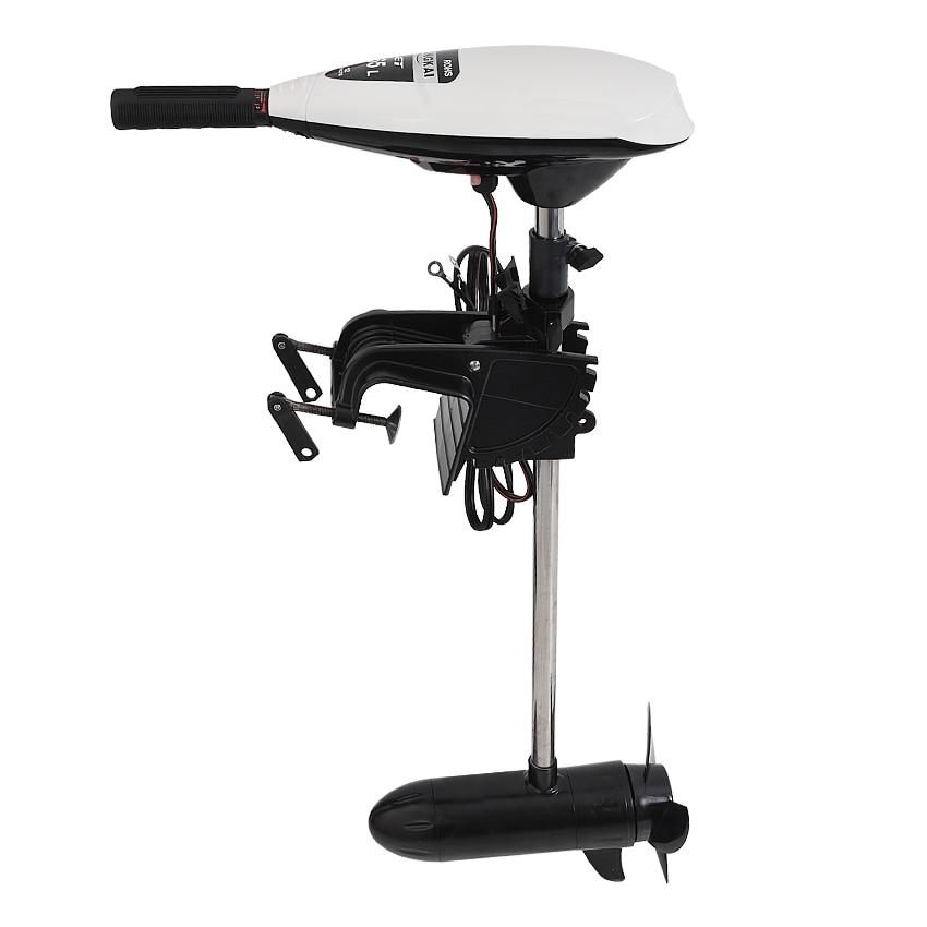 12V электрический пропеллер для лодочного мотора надувная лодка лодочный мотор тяги 22/27/30 кг щеточный мотор Тип высокое качество ET45/ET55/ET65|Гоночные лодки|   | АлиЭкспресс