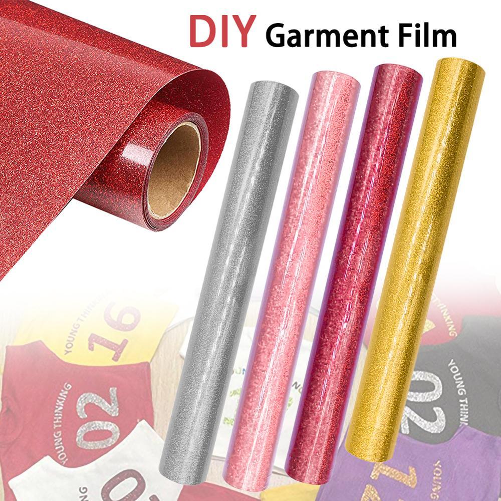 1 Roll Vinyl Heat Transfer Iron On DIY Garment Film Cricut Silhouette Paper Art