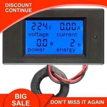 Peacefair AC Single Phase Digital Wattmeter Power Energy Meter 220V 100A Kwh Meter Homekit PZEM-061 with Coil CT Free Shipping - DISCOUNT ITEM  28% OFF All Category