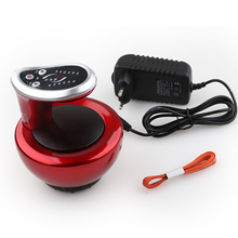Electric Cupping Massager Suction Vacuum Magnet Therapy Guasha Scraping Massage Stimulate Acupoint Body Slimming