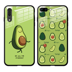 На Алиэкспресс купить стекло для смартфона tempered glass case for vivo y95 y91 y91c y93 y90 y97 green cute avocado hard cover for vivo y95 y83 y81s y81 y85 phone casing
