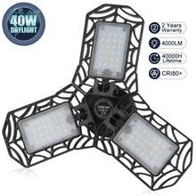 E27 LED Foldable Garage Lights Deformable E27 LED Light Bulb For Parking Industrial Warehouse Led Mining Lamp For Lighting