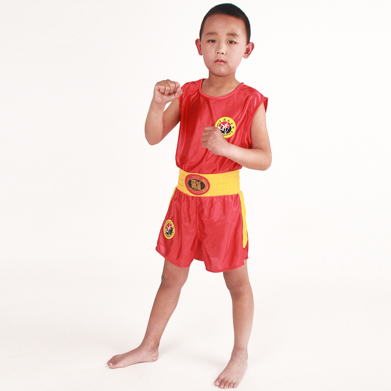 Manufacturers Direct Selling Sanda Clothing Men And Women Boxing Fighting Training Clothing Children Martial Arts Performance We