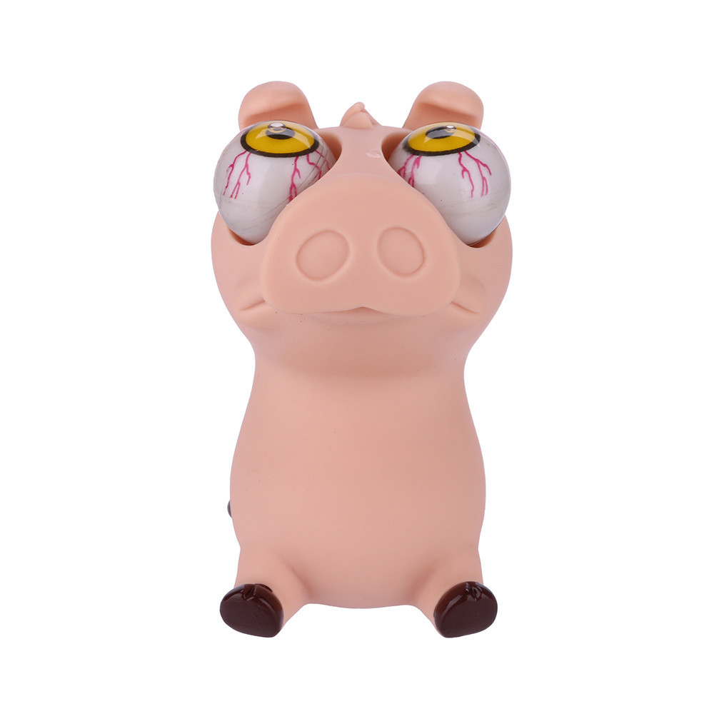Novelties Toys Pop Out Stress Reliever Lovely Pig Squeeze Vent Toys Toy Interesting Novelty Prank Toy Boy Toys Gifts #B