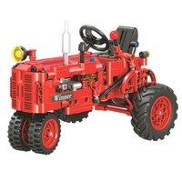 Winnaar 7070 302 Pcs Technic Klassieke Klassieke Oude Tractor Bouwsteen Diy Educatief Baksteen Speelgoed Voor Kinderen Grappige Gift