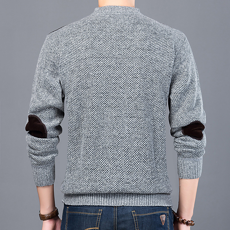 2020 New Fashion Brand Sweater For Mens Pullovers Slim Fit Jumpers Knitwear O-Neck Autumn Korean Style Casual Clothing Male