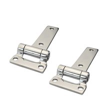 2PCS Mirror 304 Stainless Steel 135mm T Hinge Heavy Duty Marine Boat Yachts Hardware Stainless Steel Door Hinges For Container