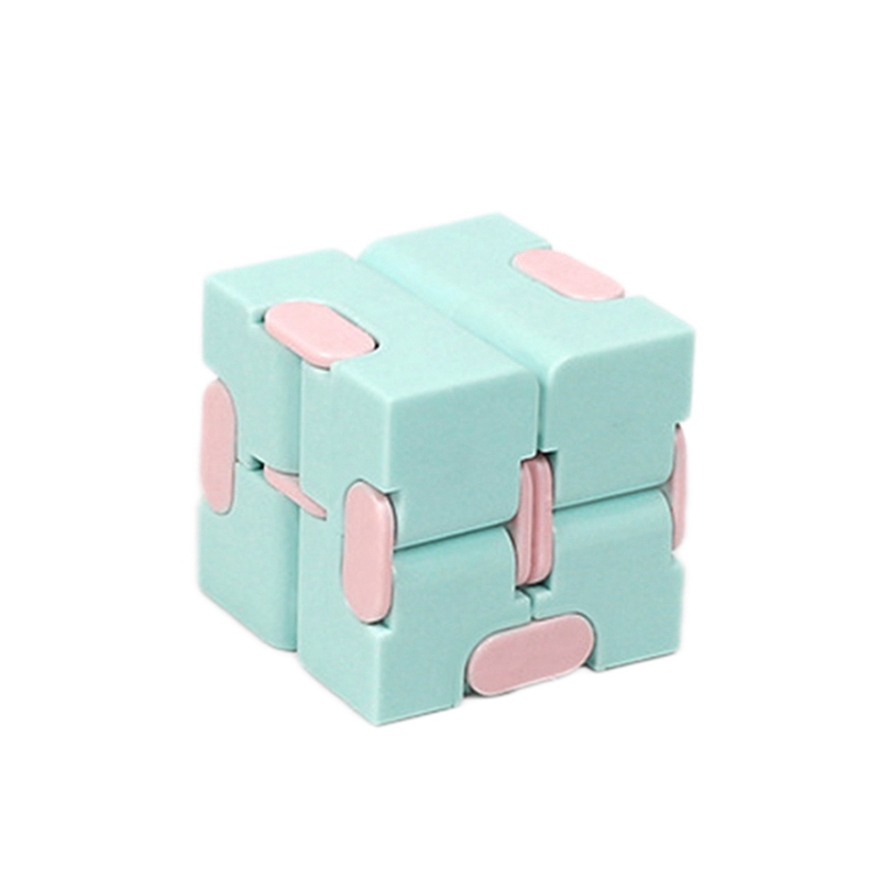 Magic Infinity Cube Decompression Toy for Children Adult Stress Relieve Toys Flip Cubic Puzzle Anti-anxiety Cube Toy Autism Gift 9