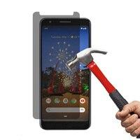 9H 2.5D Privacy Temperato di Vetro Per Google Pixel 3 3A XL Pixel 3XL 3 Lite Anabbagliante Della Protezione Dello Schermo pellicola protettiva di Vetro