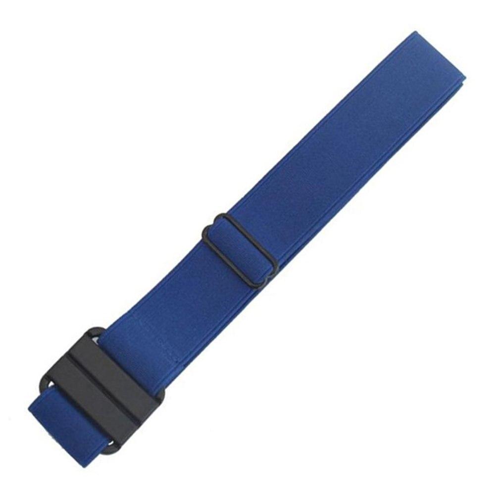 115cm ajustável estiramento cinto de cintura plana fivela antiderrapante simples elástico cintos banda para calças femininas e masculinas roupas cintura quente
