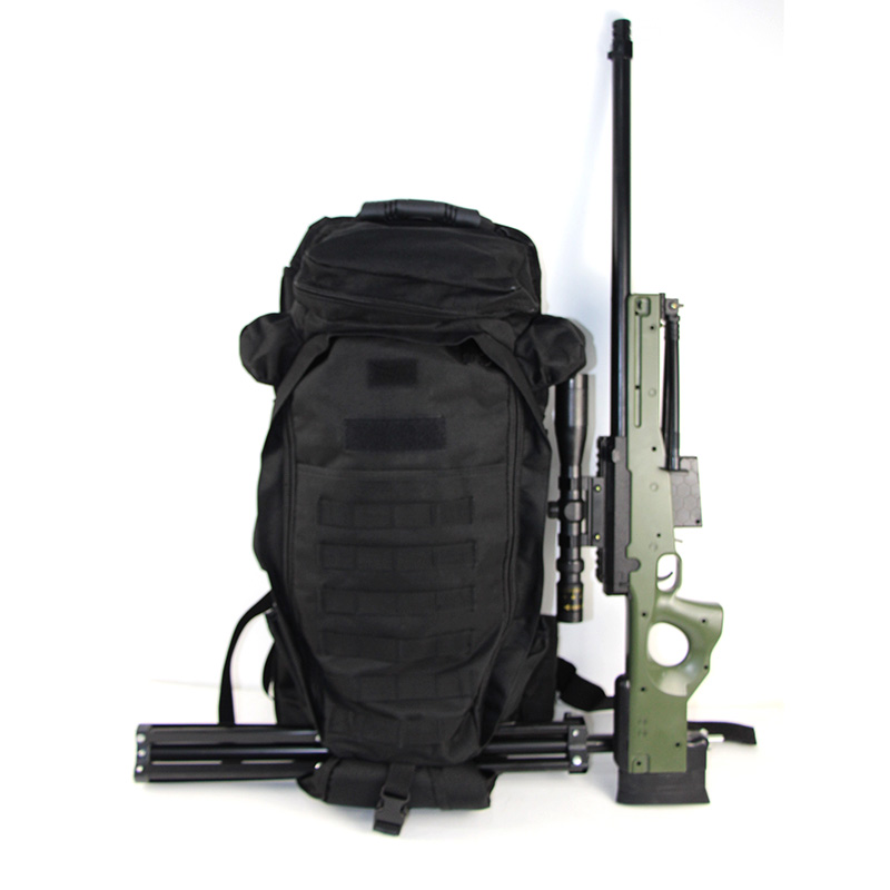 60L Military Tactical Backpack Airsoft Rifle Bag Waterproof Rucksack Outdoor Travel Trekking Climbing Camping Assault Knapsack
