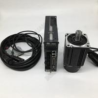 750w High Torque 3.5Nm NEMA32 80mm 220V 2000r/min Modbus RS485 AC Servo Motor Drive Kits Replace Yaskawa Fuji Delta for CNC