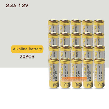 20 sztuk partia mała bateria 23A 12V 21 23 A23 E23A MN21 MS21 V23GA L1028 sucha bateria alkaliczna tanie i dobre opinie EAST FIRE Alkaline Battery High 10 5*28 5mm 12V 23A