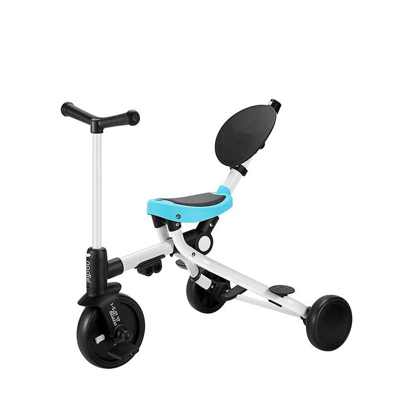 Baby's bike Hand push folding stroller kid's bicycleTwo way Baby's three wheel bike Children's utility High quality kid's bike