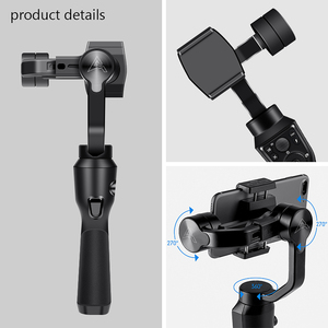 Image 5 - Eksprad 3 Axis Handheld Gimbal Stabilizer Focus Pull Zoom Following the Shooting Mode for iPhone 11 XR XS Samsung Action Camera
