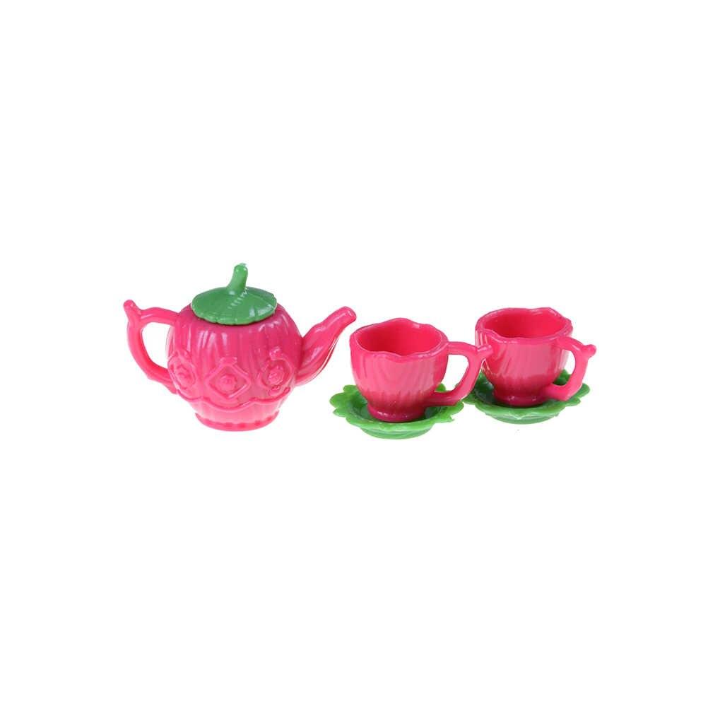 1PCS 1:12 Dollhouse Miniature Copper Tea Kettle Tea Pot Classic Toys BR
