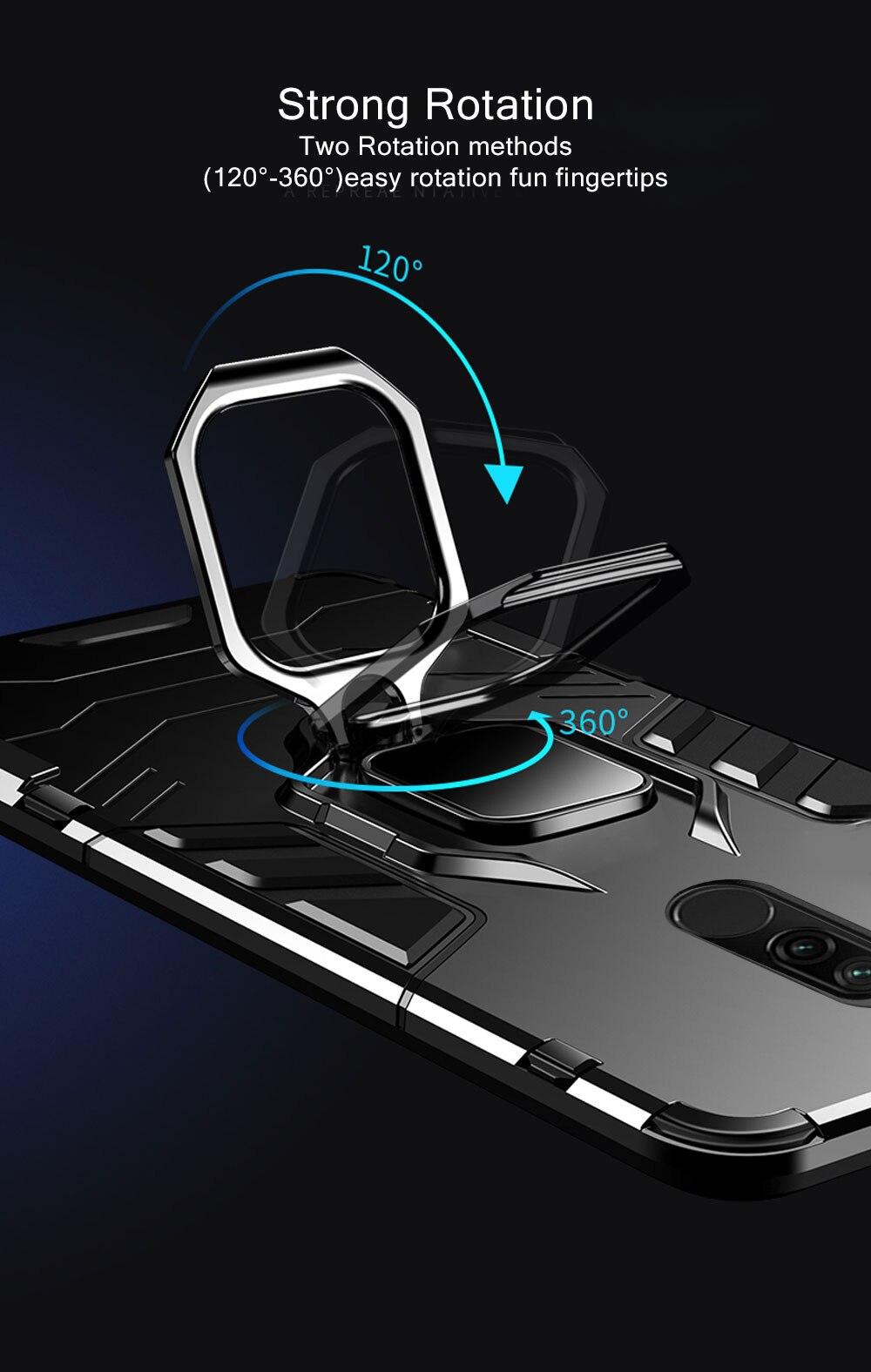 H886d833be9b54554b5587438323af4c7w Armor Case for Redmi 8 8A Case Magnetic Car Phone Holder TPU+PC Bumper Cover on for Xiaomi Redmi 8 8A 8 A Global Version Case