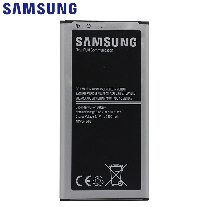 Image 2 - SAMSUNG Original Phone Battery EB BG903BBE 2800mAh For Samsung Galaxy S5 Neo G903F G903M G903H Replacement Batteries with NFC-in Mobile Phone Batteries from Cellphones & Telecommunications on