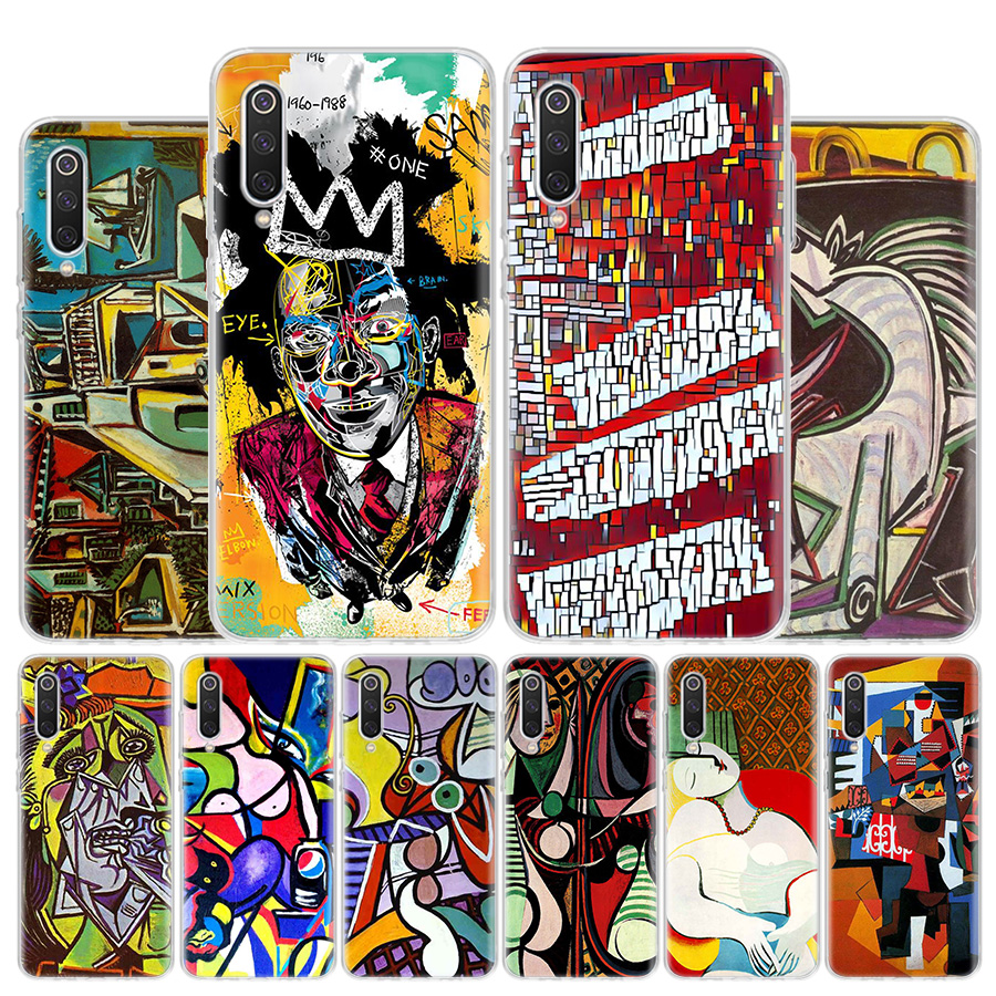 Pablo Picasso Abstract Art Painting Phone Case For Xiaomi Redmi Note 9 9s 8 8t 8a 7 7a 6 6a Mi 9 8 5x 6x F1 Cc9 Pro Lite Cover C Half Wrapped Cases Aliexpress