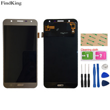 TFT OLED Mobile LCD Display For Samsung Galaxy J7 2017 J701 J701F/DS J701M Touch Screen Digitizer LCD Display Assembly
