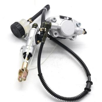Rear Foot Disc Brake Master Cylinder Assembly with Oiler for 110cc 125cc 150cc 200cc 250cc ATV Quad Dune Buggy Taotao hydraulic brake master cylinder for go kart buggy 90cc 110cc 125cc 150cc 200cc 250cc