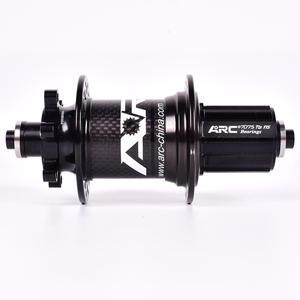 Image 4 - ARC Carbon Fiber MTB hub Mountain bike hub 4 bearing 6 Pawls 114 Click 8 9 10 11 12 speed bicycle hub 135*10MM 142*12MM 32 Holes
