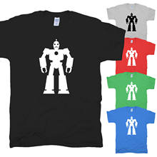 Robot intelligence Android Sci-Fi Robot Robotics Nerd Asimov Ki T-Shirt S-XXL- show original title(China)
