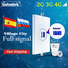 Fast Mobile Booster AGC Signal Amplifier 3G 4G Cellular Network 900 1800 2100mhz Communication