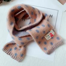 Promotion Kids Scarf Baby Woolen Scarves Children Warmer Win