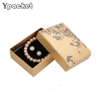 Kraft Paper Bracelet Box 40pcs/Lot Bracelet Box Pounches Packing Necklace Bracelet Earrings Jewelry Organizer Gift Box