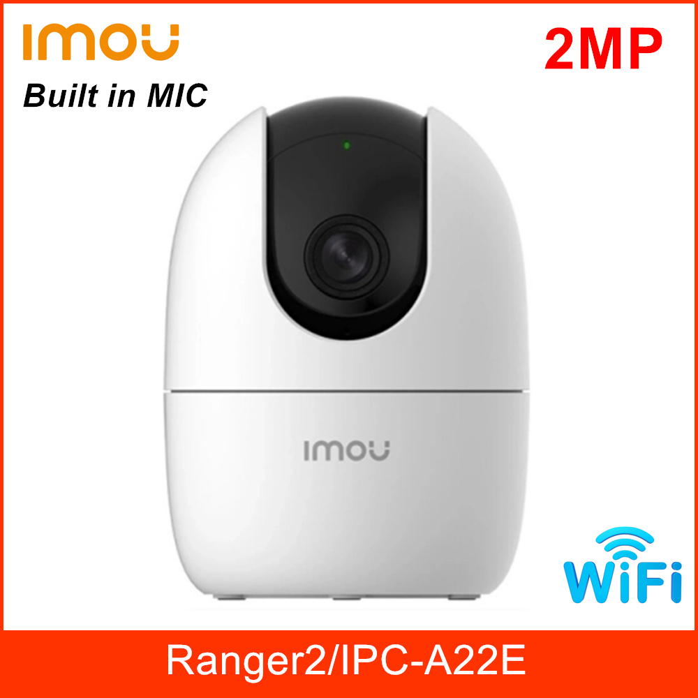 Dahua Imou Ranger 2 Wifi Camera Built in MIC Siren Two way Talk Support Cloud and SD Card 256G 360 degree Coverage