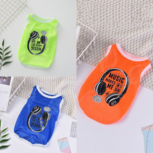 New Summer Dog Clothes Pet Vest Puppy Dog Shirt Cats Clothes For Teddy Poodle Small Dogs Clothing Pet Apparel Mini Dog Clothes dog clothes teddy dog vest spring and summer dog clothes suitable for small and medium sized dog coffee cotton pet vest t shirt