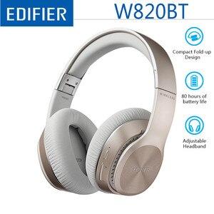Image 1 - EDIFIER W820BT Drahtlose Kopfhörer Bluetooth 4,1 Premium Hören Erfahrung Bis zu 80 Stunden von Batterie Alle tag lange wiedergabe