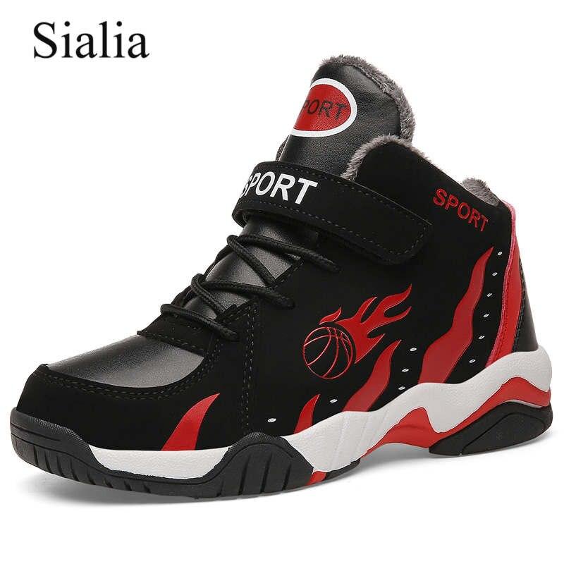 Sialia/зимняя детская обувь Детские кроссовки спортивная для мальчиков девочек
