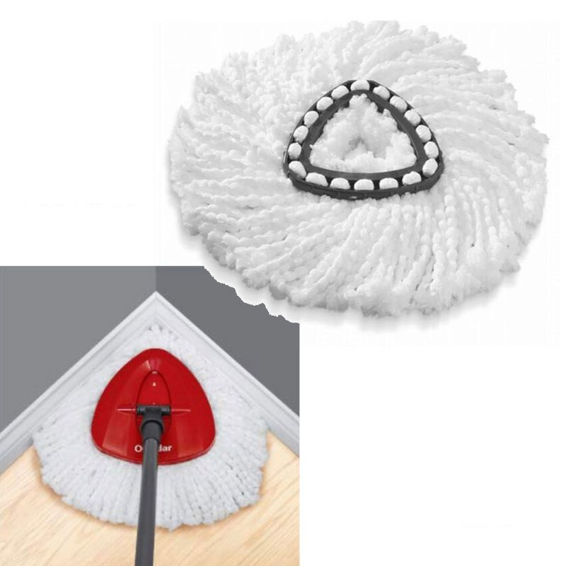 Spin Mop Replacement Head Refills Triangle for Vileda for O-Cedar Y98B(China)