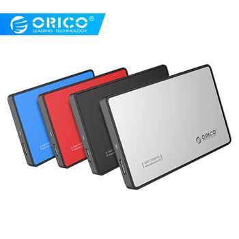 ORICO 2588US3 Ultra Thin SSD HDD Case 2.5 inch 5Gbps SATA I II III External Hard Drive Enclosure USB 3.0 Hard Drive Box for PC