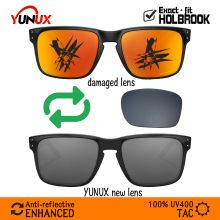 Replacement Lenses for Oakley Holbrook OO9102 Sunglasses - YUNUX