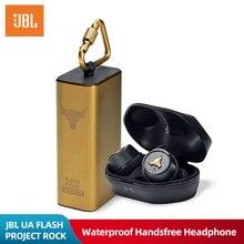 JBL UA FLASH PROJECT ROCK Ture Wireless Earphone Bluetooth Sport Earbuds Waterproof Headphone Handsfree Call with Mic Charge Box