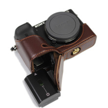 Leather Half set For SONY ILCE 6600 A6600 α6600 Camera Base Fuselage protection Shell