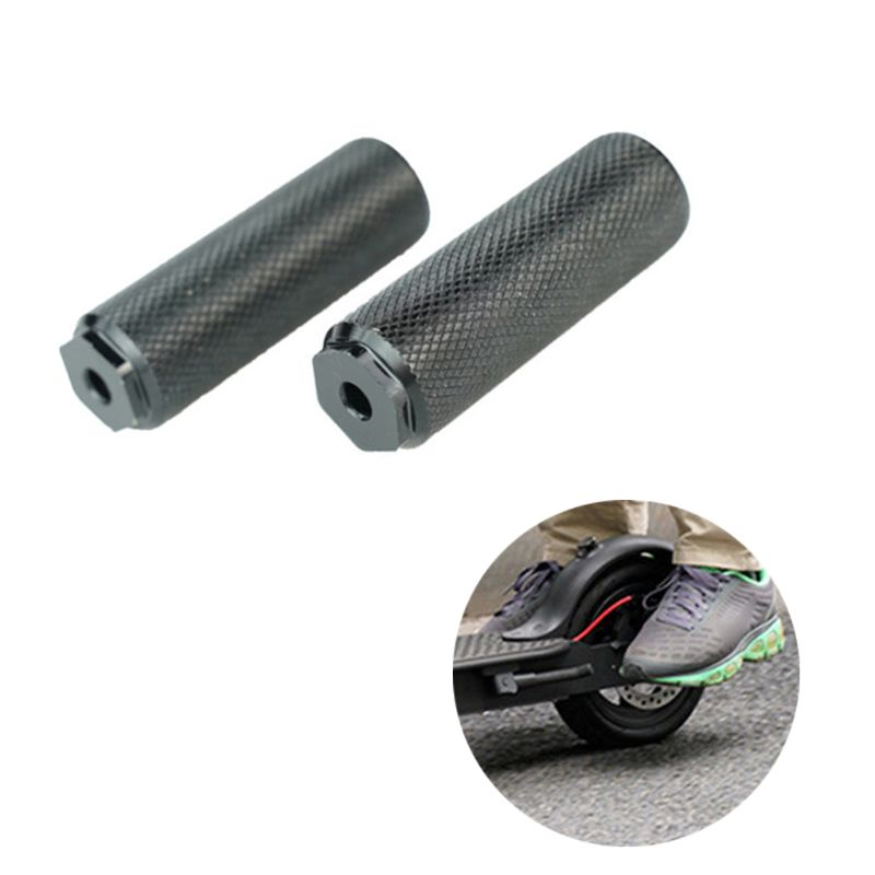New 1 Pair Scooter Back Pedal For Xiaomi Mijia M365 & M365 Pro Electric Scooters Accessories Qyh
