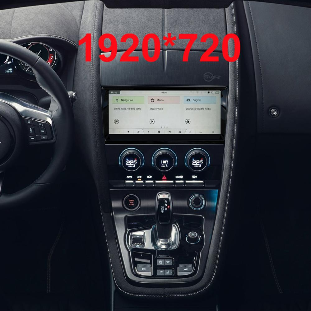10.25 inch Android 9.<font><b>0</b></font> Upgraded Original Screen Car multimedia Player for Jaguar F-TYPE 2015-2018 (original Car 8inch NO DVD) image