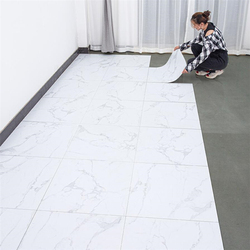 Beibehang auto-adhésif pvc sol autocollants ciment sol épais résistant à l'usure imperméable plancher cuir ins net rouge sol colle